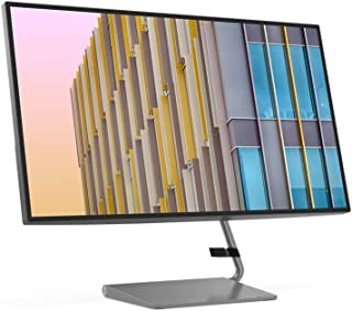 Lenovo Q27h-10 27-inch QHD LED Backlit LCD Hub PC Computer Monitor, HDMI, USB-C & A+ Energy Rating