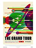onthewall Die Grand Tour NASA Space Exploration 30x