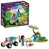 LEGO Friends Il Buggy di Soccorso della Clinica Veterinaria, Giocattoli per Bambini 6+ Anni, con Mini-doll di Stephanie e Andrea, 41442