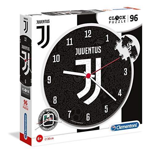 Clementoni - 23037 - Clock Puzzle - Juventus - 96 Pezzi, Puzzle Bambini