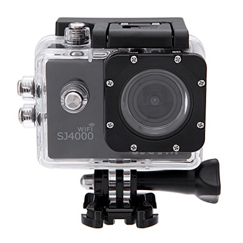 MeGooDo SJCAM Original SJ4000 WiFi Action Camera 12MP 1080P H.264 1.5 Inch 170° Wide Angle Lens Waterproof Diving HD Camcorder Car DVR (Black)