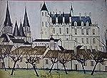 Chateaux de la Loire de Bernard Buffet