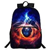 School Backpack, Galaxy Pattern Vintage Style Backpack Unisex Fashion Casual School Rucksack Bag Travel Laptop Backpack Daypack Tablet Bags (Cosmic Galaxy)
