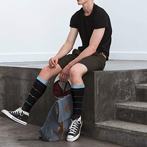 LIDABAO Compression Socks for Women and Men Circulation Compression Socks 20-30 mmHg for Running Sport Nurse Travel Edema