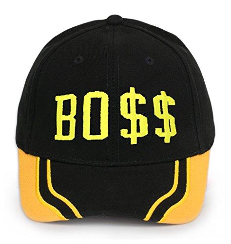 Bonnet Chapeau Casquette Snapback Baseball Hip-Hop Bad Hair Day Cash Meow Snap Back (Boss)