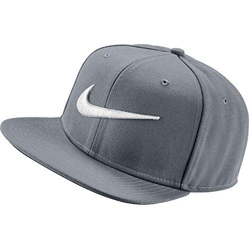 Nike Sportswear Pro Swoosh Classic Kappe, Wolf Grey/Pine Green/Black/White, One Size