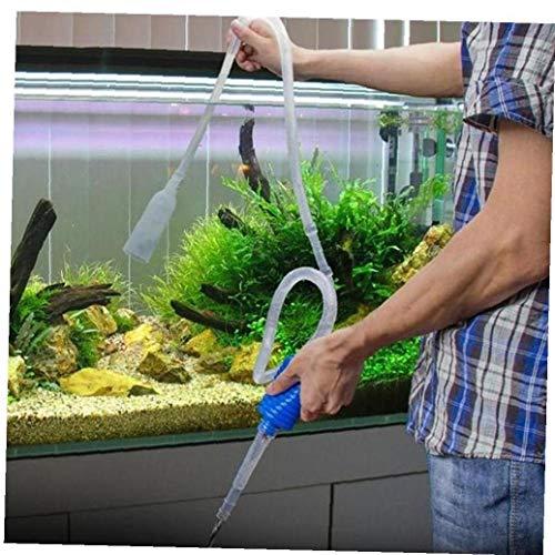 PiniceCore 1Pc Einzigartige 103cm Syphon Gravel Saugleitung Filter-Fisch-Behälter Vakuum-Wasserwechsel Pumpe Aquarium Manuelle Reinigungsmittel-Werkzeug