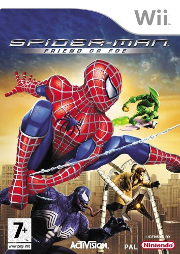 Spider-man: Friend or Foe (Wii) [Importación Inglesa]