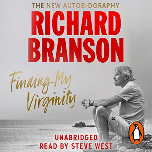 Finding My Virginity Audiobook By Sir Richard Branson cover art