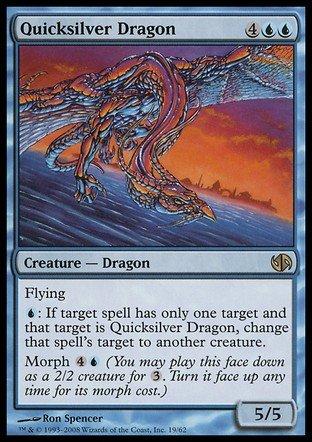 Magic The Gathering - Quicksilver Dragon - Duel Decks: Jace vs Chandra