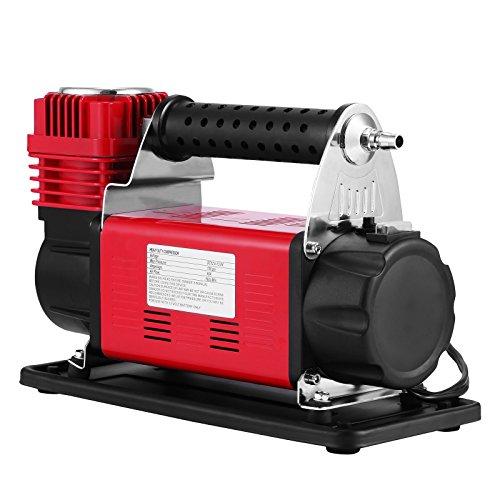 Mophorn Compresor de Aire Portátil, 150 PSI Bomba de Aire para Trabajo Pesado, 10 bar Kit de Compresor de Aire, 12 V Mini Compresor de Aire