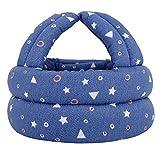 Simplicity Baby Safety Helmet Toddler Head Protection Cap Dark Blue Star