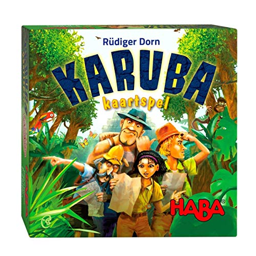Spel - Kaartspel - Karuba - 8+
