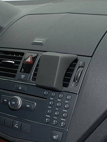 KUDA 291775 Halterung Kunstleder schwarz für Mercedes C-Klasse (W204/S204) 04/2007 bis 04/2010