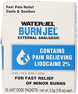 Water Jel, First Aid Burn Relief, Burn jel, 25 count (B0006GE5N6) | Amazon price tracker / tracking, Amazon price history charts, Amazon price watches, Amazon price drop alerts