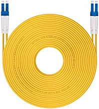 50m OS1/OS2 LC to LC Fiber Patch Cable 9/125 Singlemode Duplex, LSZH, 164ft, Available 1m - 50m