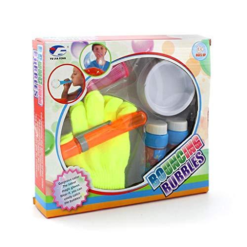 ECMQS Magic Blowing Bubble Elastic Jumping Gebläse Handschuhe Outdoor Funny Kids Kinder Spielzeug Spiele Geschenke