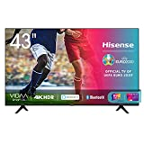 Hisense 43AE7000F, Smart TV LED Ultra HD 4K 43', HDR 10+, Dolby DTS, Alexa integrata, Tuner DVB-T2/S2...