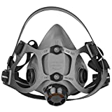 North 550030 Black Medium Elastomer Half Facepiece - 550030M [PRICE is per EACH]