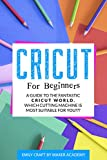 CRICUT FOR BEGINNERS: A Guide to the Fantastic Cricut World. Which Cutting Machine Is Most Suitable For You?