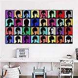 yaofale Kein Rahmen Andy Warhol Porträt Poster und Drucke