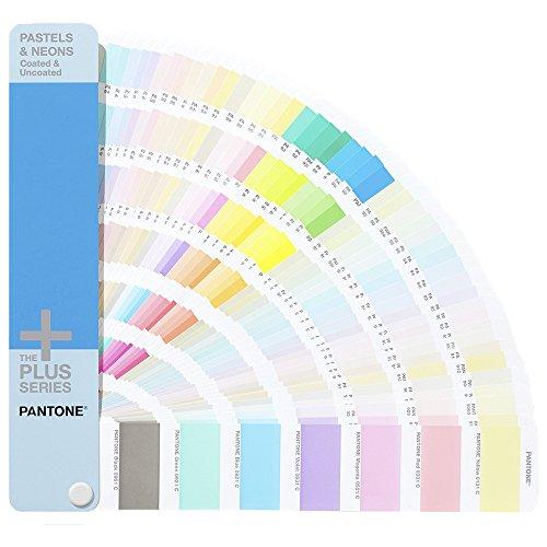 Pantone GG1504 Tavolozza di 154 Colori Pastello e 56 Neon, Multicolore