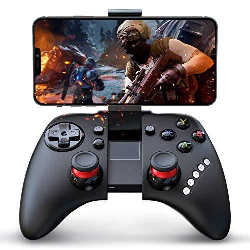 QcoQce コントローラー Bluetooth ゲームパッド Android/iOS/Windows/360Xbox対応 ワイヤレ スマホコントロ...