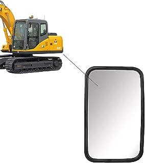 governingsoldiers 2X LKW R/üCkspiegel Traktor,Bagger,Landmaschinen,Transporter Oder Bus Spiegel Universal 255 X 163 Mm,Schwarz,Kunststoff,Singlelens