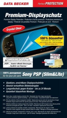 Data Becker Protector de pantalla PSP.