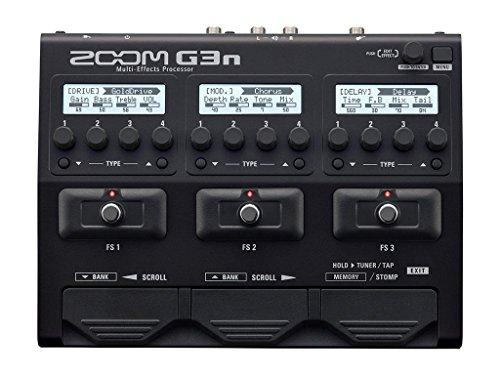 Zoom G3N Multieffekt-Pedalgerät mit Verstärker-Simulator