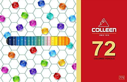 Colleen pencil 72 colors - Adult coloring pencils, colored pencils 72 colors