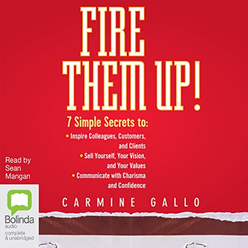Fire Them Up! audiobook cover art