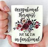 Terapia Ocupacional Regalos Terapeuta Regalo Ocupacional OT Taza Regalo de Graduación OT Mes Divertida Terapia Ocupacional Regalo Nuevo Trabajo