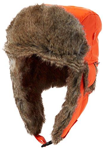 Fjällräven Värmland Heater, Cappellino Unisex – Adulto, Safety Orange, L