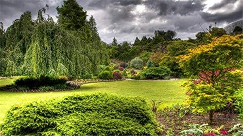 Rompecabezas De 1000 Piezas, Queen Elizabeth Garden Vancouver, Para Niños Y Adultos, Divertido Juego De Rompecabezas De Madera Personalizado