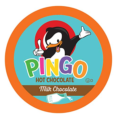 Pingo Hot Cocoa Pods for Keurig K-Cup Brewers Milk Chocolate, 40 Count