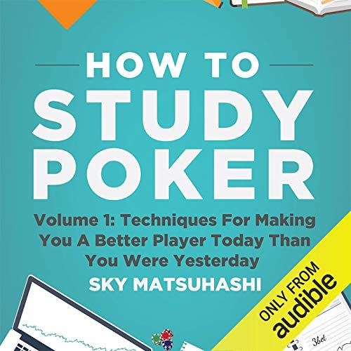 How to Study Poker, Volume 1q cover art