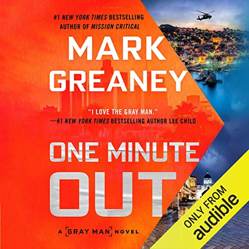 One Minute Out audiobook cover art