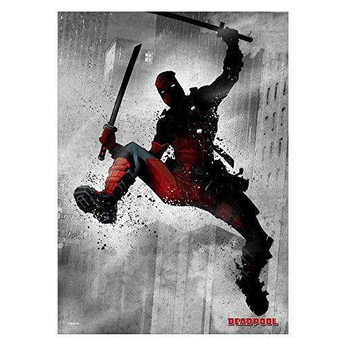 Marvel Comics Metall-Poster Dark Deadpool 32 x 45 cm