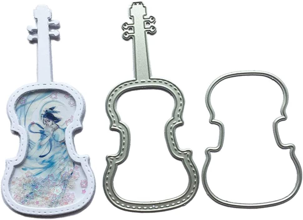 1.9 by Ranking TOP12 4.2 Inch Violin Musial Dies Cutting Metal overseas Instrument Albu