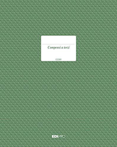 EDIPRO – E2289 – Lohnbuch für Dritte 23 Seiten nummeriert f.to 29,7 x 21
