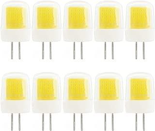Bombilla LED G4 de 3 W, intensidad regulable, color blanco frío, sustituye a bombilla halógena G4 de 30 W, 220 a 240 V, 6000 K, 10 unidades