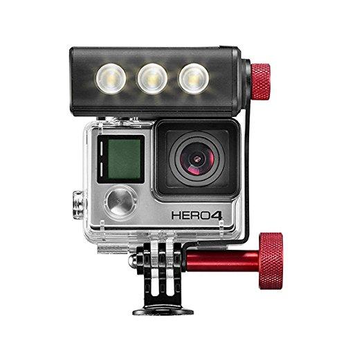 Off Road Manfrotto LED-Licht und Halterung für Kamera
