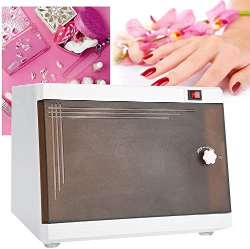 LXT PANDA Sanitizer Instrument & Towel Sterilizer Cabinet, Multi-Functional Disinfection Cabinet, Professional UV Ozone Sterilizer Nail Tools Disinfecting Drawer Manicure Beauty Salon Spa Tools.