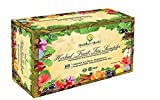 Buddha's Herbs Premium Herbal Fruit Tea Sampler - Immune (Vitamin C), Inflammation and Antioxidant Support - 60 Count Assorted Package, Tea Gifts, New Year Gifts