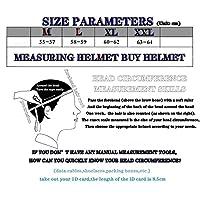フリップアップバイククラッシュモジュラーヘルメットECE承認-成人男性女性用サンバイザー付きフルフェイスレーシングオートバイヘルメット A,L
