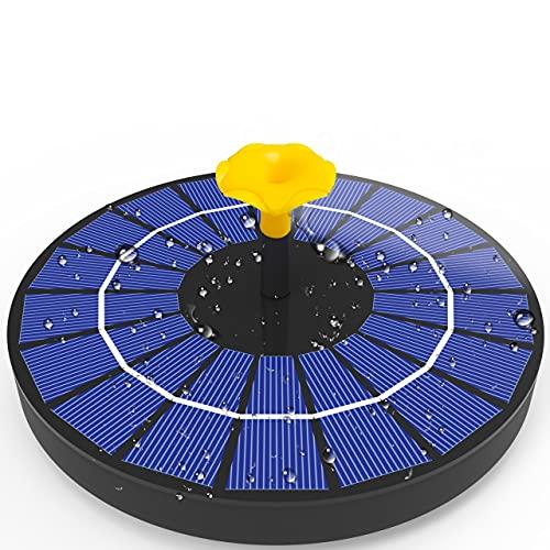 Viajero 2021 4W Solar Fountain with 3000mAh Battery Backup,...