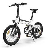 HIMO C20 Bicicleta Eléctrica para Fregona 20 Pulgadas 3 Modo de Conducción Conmutable 80 km Kilometraje del Ciclomotor Eléctrico Diseño Plegable Bicicleta Eléctrica Plegable 6 Engranajes