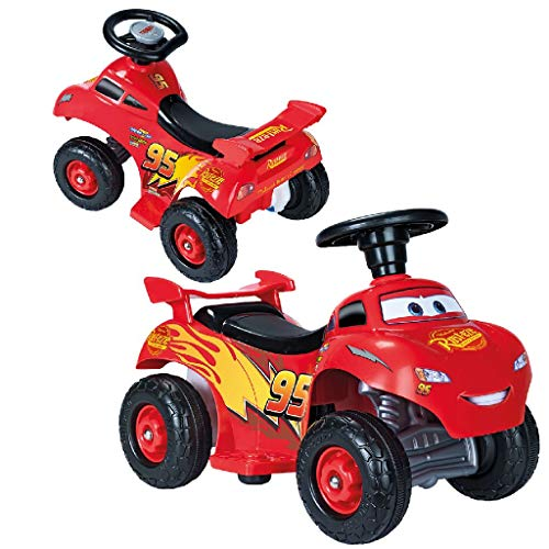 FEBER - Quad Cars Lighting Mcqueen 6 V...