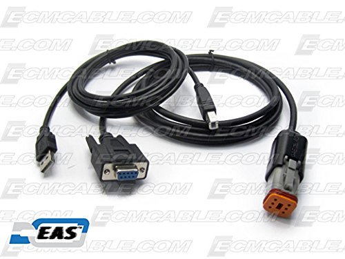 Harley Davidson CAN Bus SEPST 6-Pin Compliant ECM Tuning Cable Kit with EAS Technology